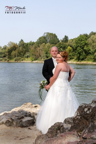 Hochzeit an der Donau Fotografiert